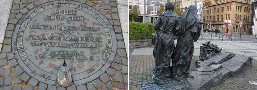 edith-stein-denkmal-in-köln