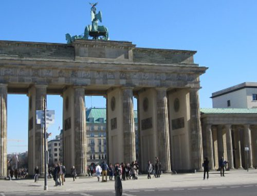 Brandenburger Tor und Quadriga in Berlin